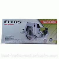 Пила дисковая Eltos ПД-210-2350(2 диска)