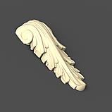 Кронштейн из дерева резной 60х130, фото 2
