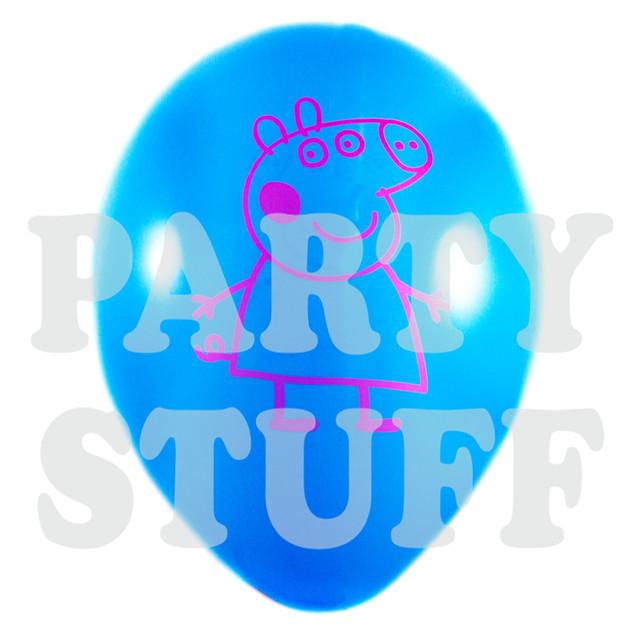 воздушные шары Свинка Пеппа ассорти