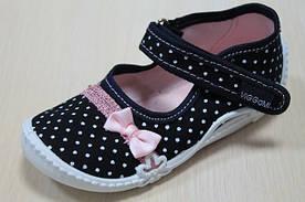 Новое поступление детской текстильной польской обуви.