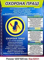 Стенд по охране труда Код-02831