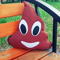 Подушка-смайлик Emoji Мистер Какашка