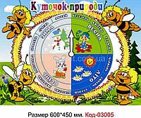 """Стенд для детского сада """"Календарь природы"""" Код-03005"""