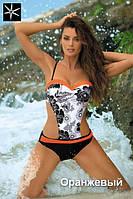 Красивый женский купальник монокини Marissa TM Marko Оранжевый Цвет 3