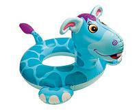 """Детский надувной круг для плавания """"Динозаврик"""" INTEX 58221-D (76х56 см)"""