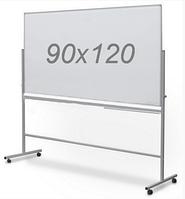 Оборотно-мобильная маркерная доска 90х120см