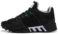 Мужские кроссовки Adidas EQT Running Support 93 Primeknit Dark Grey, адидас НМД