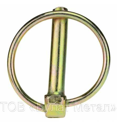 Шплинт с кольцом DIN 11023  - ООО «Булат Метал» в Киевской области