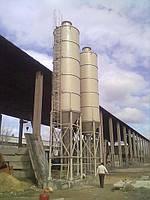 Силосы для цемента, песка  от 5 до 250 тон..