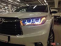 Фары передние Toyota Highlander