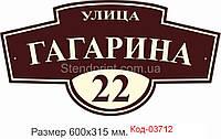 Адресна табличка Код-03712