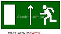 Знак эвакуации Код-03796