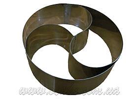 """Нержавеющая форма для выпекания """"Капля"""", h-10, Ø 30 см"""