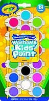 Краски Crayola 18 цветов CRAYOLA WASHABLE KIDS PAINT