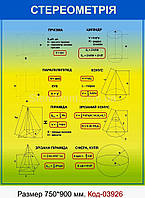 Стенд по математике Код-03926