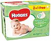Влажные салфетки Huggies Natural Care 2+1, 3x56 шт.