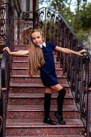 Платье для девочки с воротничком