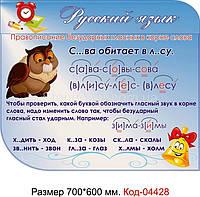 Стенд пластиковий Код-04428