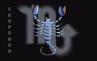 """Защитный символ  """"Скорпион"""" (магнит)"""