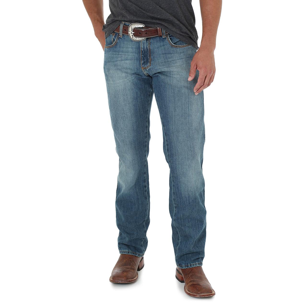 Джинсы Wrangler Retro Slim Fit Straight Leg, Rocky Top, 42W34L, 88MWZRT