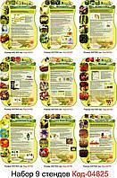 Набор стендов по биологии растений (На Украинском) Код-04825