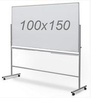 Оборотно-мобильная маркерная доска 100х150см