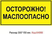 Знак предупреждающий Код-04990