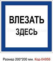 Знак предписывающий Код-04956