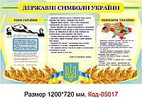 Символика Украины (Стенд) Код-05017