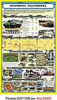 Пластиковий стенд (Тактична підготовка) Код-05050