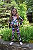 """Детский спортивный костюм для девочек """"Цветы"""""""