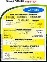Стенд по математике Код-01924