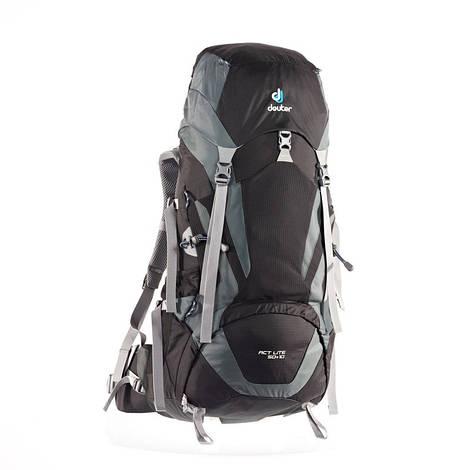 Треккинговый рюкзак Deuter ACT Lite 50+10 black/granite (3340315 7410)