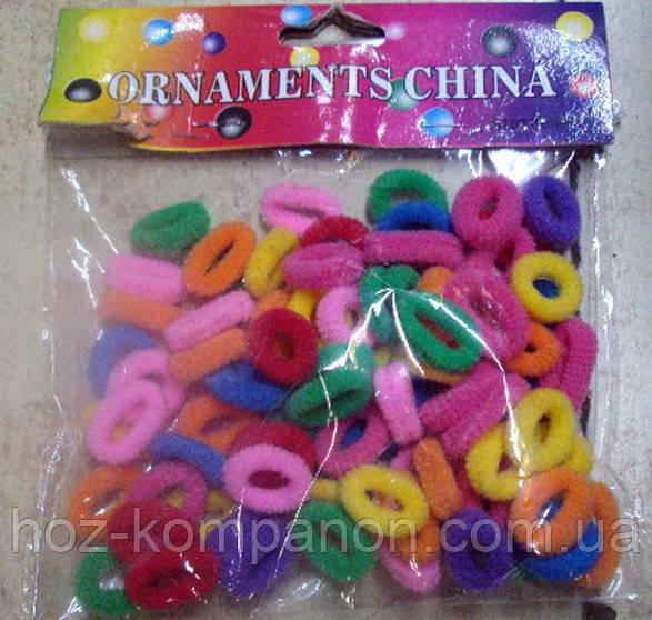 Резиночки для волос 100 шт М
