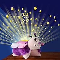 Игрушка ночник-проектор звёздного неба Бабочка Pink Butterfly Dream Lites оригинал из США
