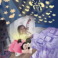 Игрушка ночник-проектор Мини Маус Pillow Pets Dream Lites Minnie Mouse оригинал из США