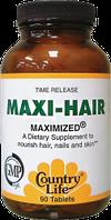 Maxi Hair, 90 таблеток, витамины для роста волос и укрепления ногтей
