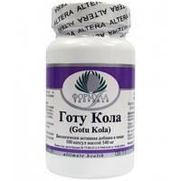 Готу Кола для очистки сосудов мозга,  Альтера Холдинг, 540 мг, 100 капсул