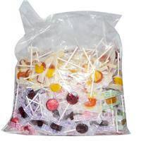 Конфеты-леденцы на палочке натуральные, Ассорти, Yummy Earth, 324 шт