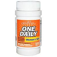 Витаминный комплекс для женщин после 50 лет (1 таблетка в день), 100 таблеток, купить, цена, отзывы