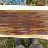 Балка  деревянная состаренная, фото 3