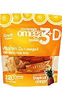 Omega-3 Squeeze Tropical Orange + Vit D Super Value Bag,