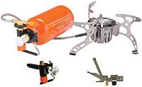Горелка мультитопливная (газ, бензин, керосин) со шлангом и подогревом Tramp TRG-013
