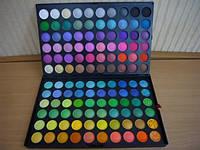 Палитра палетка  теней 120 цветов №6 (полноцветные) , фото 1