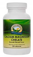 Кальций Магний Хелат, 150 таблеток по 1,4 грамм, Calcium Magnesium Chelate 150 NSP США, купить, цена, отзывы