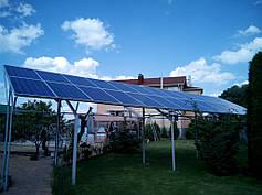 Сетевая солнечная станция 6,5 кВт, г. Днепропетровск