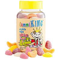 Кальций с витамином D для детей, Gummi King, 60 жевательных конфет