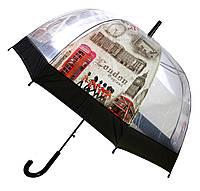Зонт Для подростка трость полуавтомат Лондон  2203-3