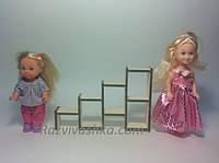 Кукольная мебель Полочки для кукол 10-15 см (под роспись, декупаж)