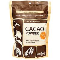 Органический какао-порошок, Navitas Naturals, Organic Cacao Powder, 454г